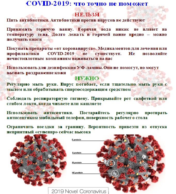 <b>Что нужно знать о коронавирусе</b>